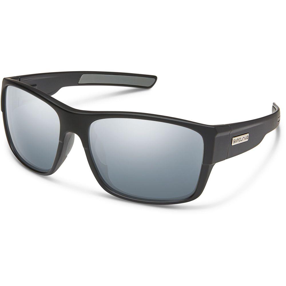 サンクラウド SUNCLOUD OPTICS ユニセックス メガネ・サングラス 【Suncloud Range Polarized Sunglasses】Mtte Blk/Slvr Mir Pol