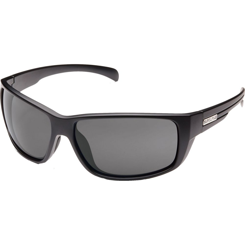 サンクラウド SUNCLOUD OPTICS メンズ メガネ・サングラス 【Suncloud Optics Milestone Polarized Sunglasses】Black/Grey Polarized