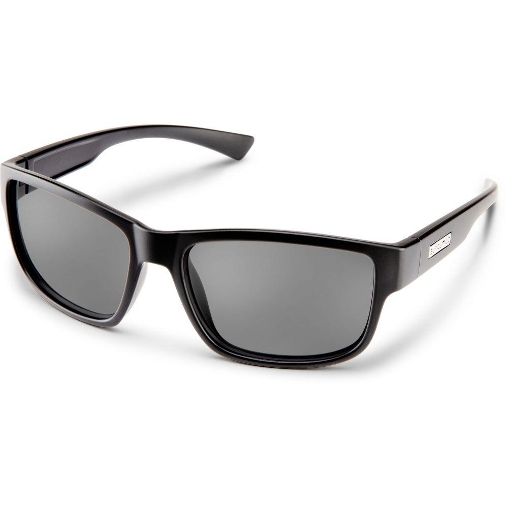 サンクラウド SUNCLOUD OPTICS ユニセックス メガネ・サングラス 【Suncloud Suspect Polarized Sunglasses】Blk/Gry Pol