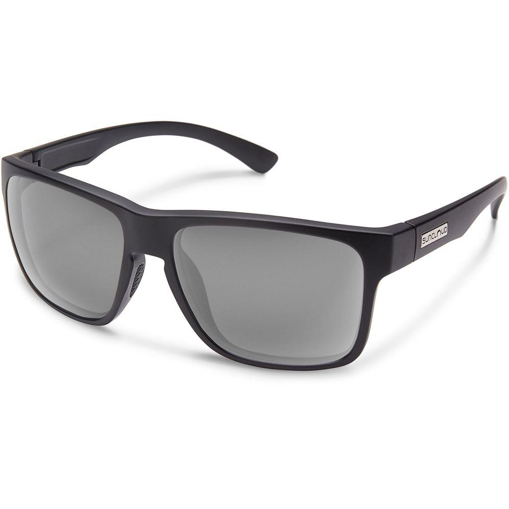 サンクラウド SUNCLOUD OPTICS ユニセックス メガネ・サングラス 【Suncloud Rambler Polarized Sunglasses】Mtte Blk/Gry Pol