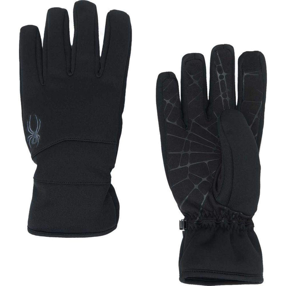 スパイダー Spyder メンズ 手袋・グローブ 【Facer Conduct Gloves】Black/Black/Black