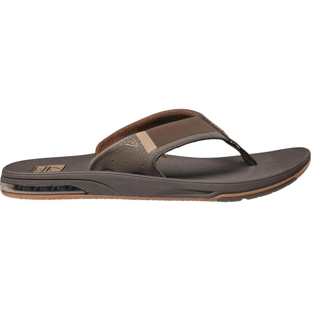 リーフ Reef メンズ ビーチサンダル シューズ・靴【Fanning Low Flip Flops】Brown
