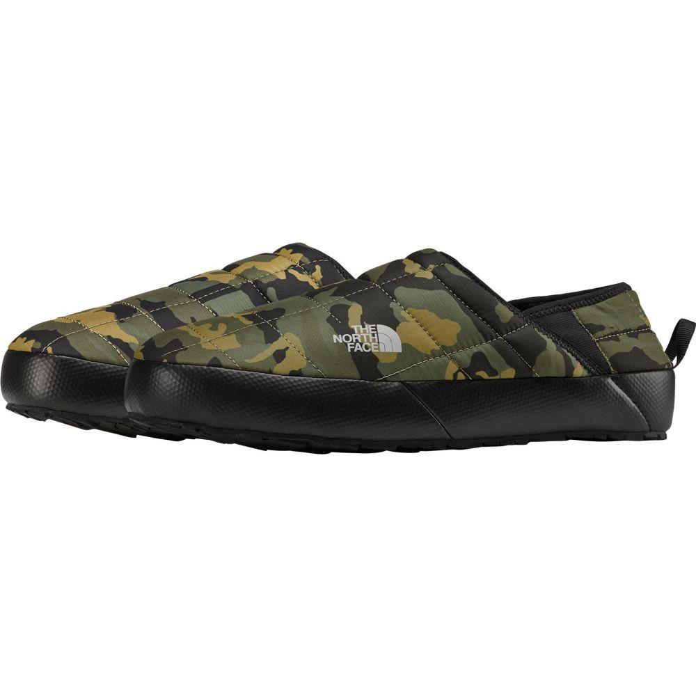 ザ ノースフェイス The North Face メンズ スリッパ シューズ・靴【Thermoball Mule V Insulated Shoes】Burnt Olive Green