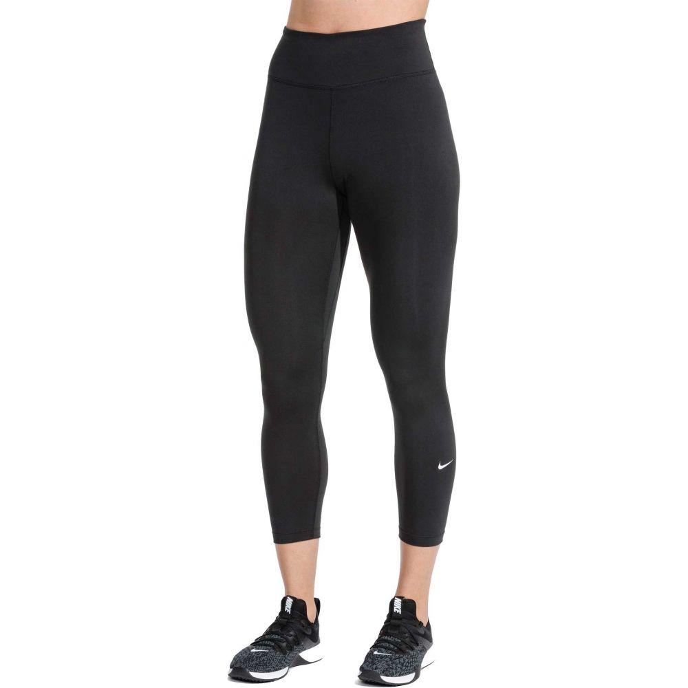 ナイキ Nike レディース フィットネス・トレーニング スパッツ・レギンス ボトムス・パンツ【One Training Crop Tights】Black
