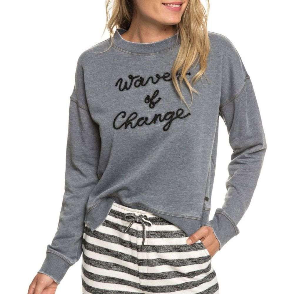 ロキシー Roxy レディース スウェット・トレーナー トップス【Journey Home Sweatshirt】Turbulence