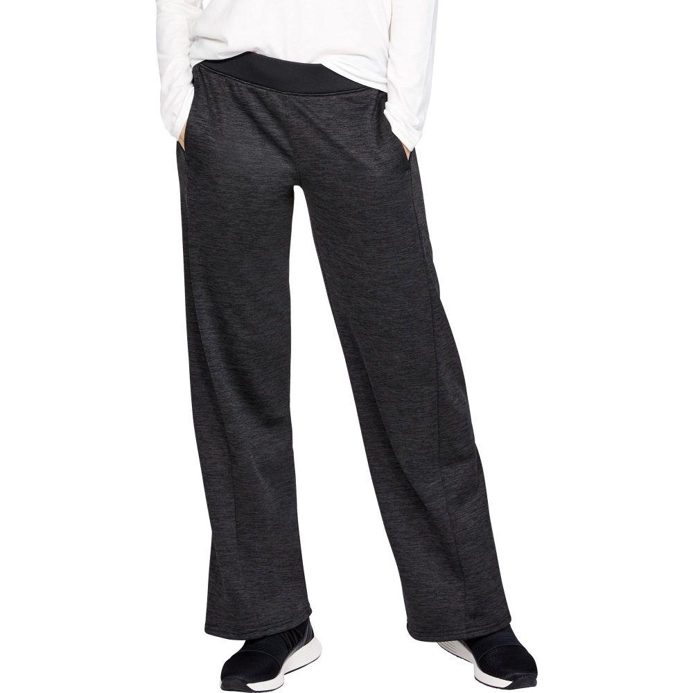 アンダーアーマー Under Armour レディース ボトムス・パンツ 【Armour Fleece Pants】Black/Jet Gray