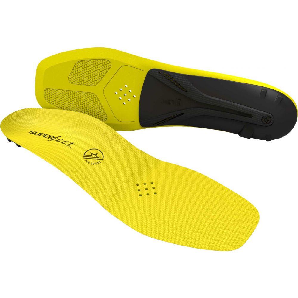 スーパーフィート Superfeet ユニセックス インソール・靴関連用品 シューズ・靴【CARBON Pro Hockey Insoles】Yellow