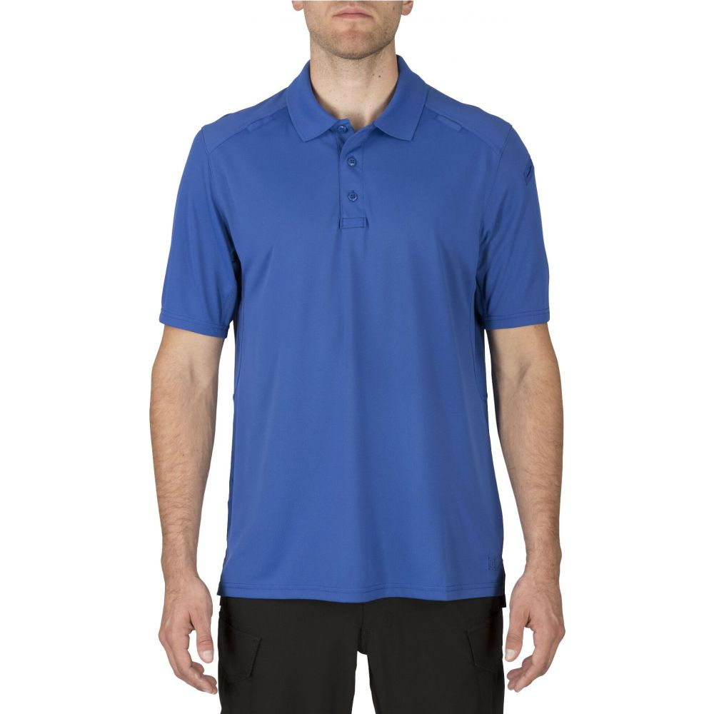 5.11 タクティカル 5.11 Tactical メンズ ポロシャツ 半袖 トップス【Helios Short Sleeve Polo (Regular and Big & Tall)】Academy Blue