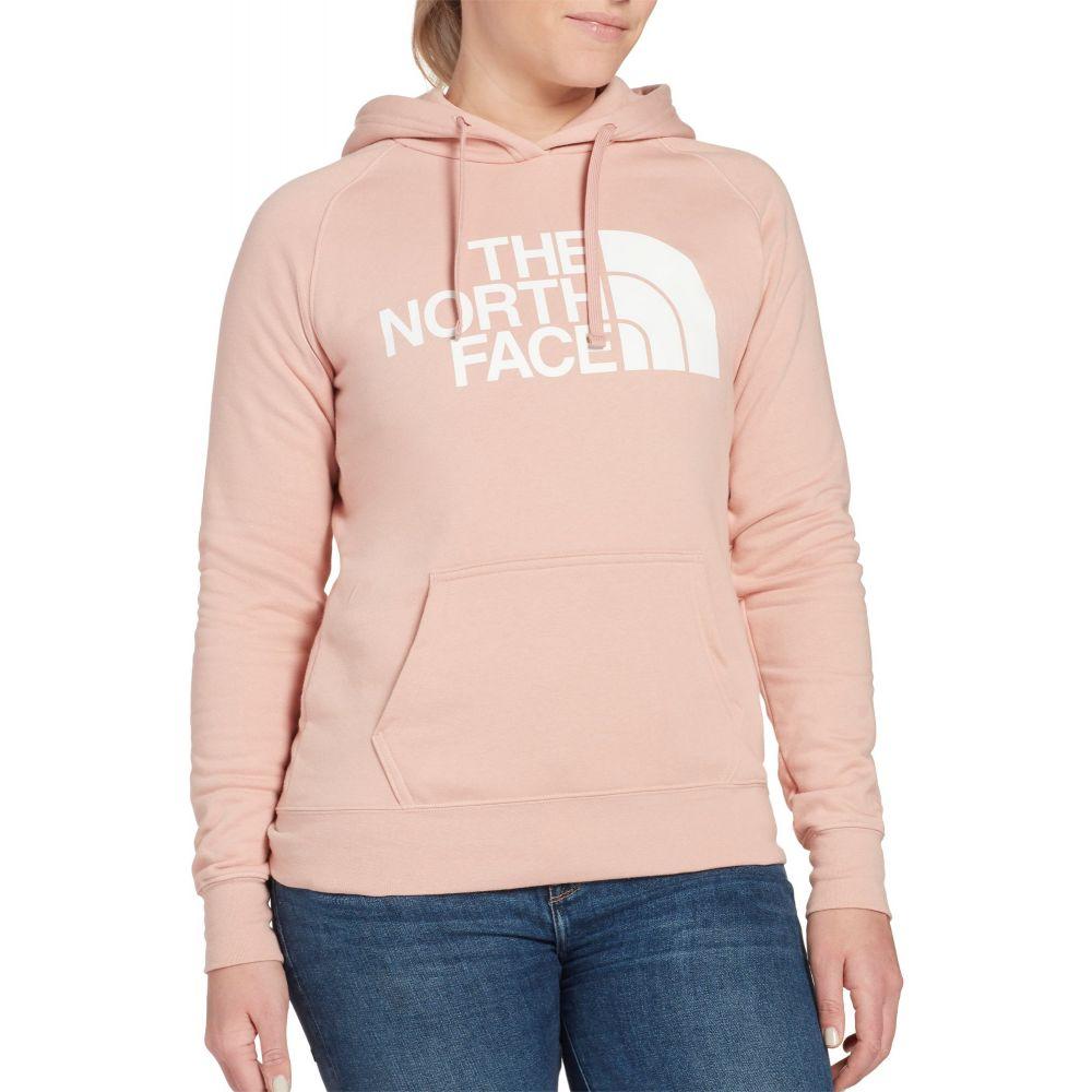 ザ ノースフェイス The North Face レディース パーカー トップス【Half Dome Pullover Hoodie】Misty Rose/Tnf White