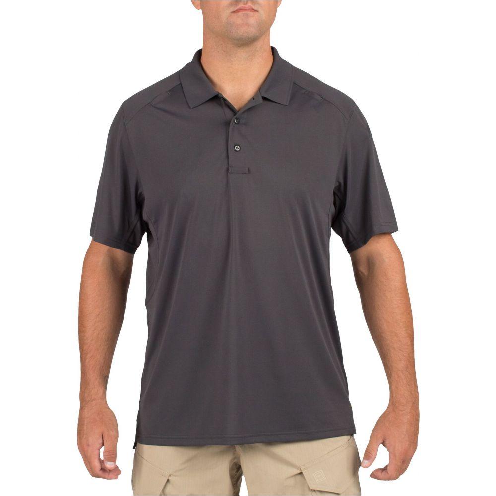 5.11 タクティカル 5.11 Tactical メンズ ポロシャツ 半袖 トップス【Helios Short Sleeve Polo (Regular and Big & Tall)】Heather Gray