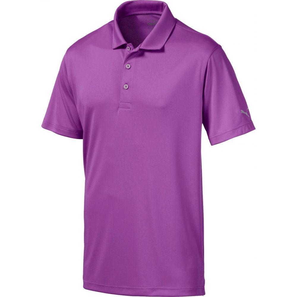 プーマ PUMA メンズ ゴルフ ポロシャツ トップス【Rotation Golf Polo】Tillandsia Purple