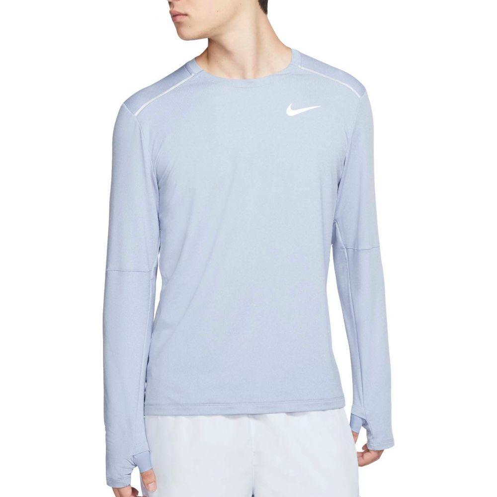 ナイキ Nike メンズ ランニング・ウォーキング トップス【Element 3.0 Long Sleeve Running Shirt】Indigo Fog/Reflctv Silver