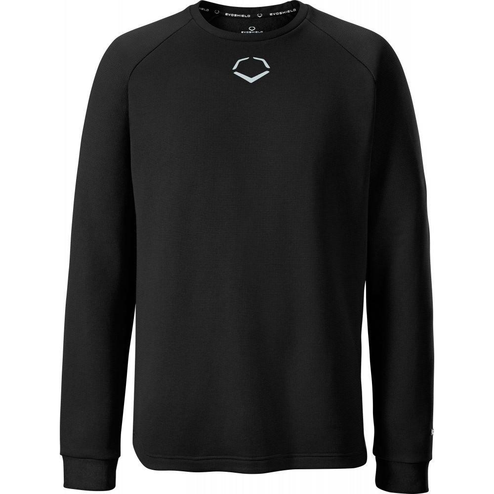 エボシールド EvoShield メンズ フリース トップス【Pro Team Heater Fleece Shirt】Black