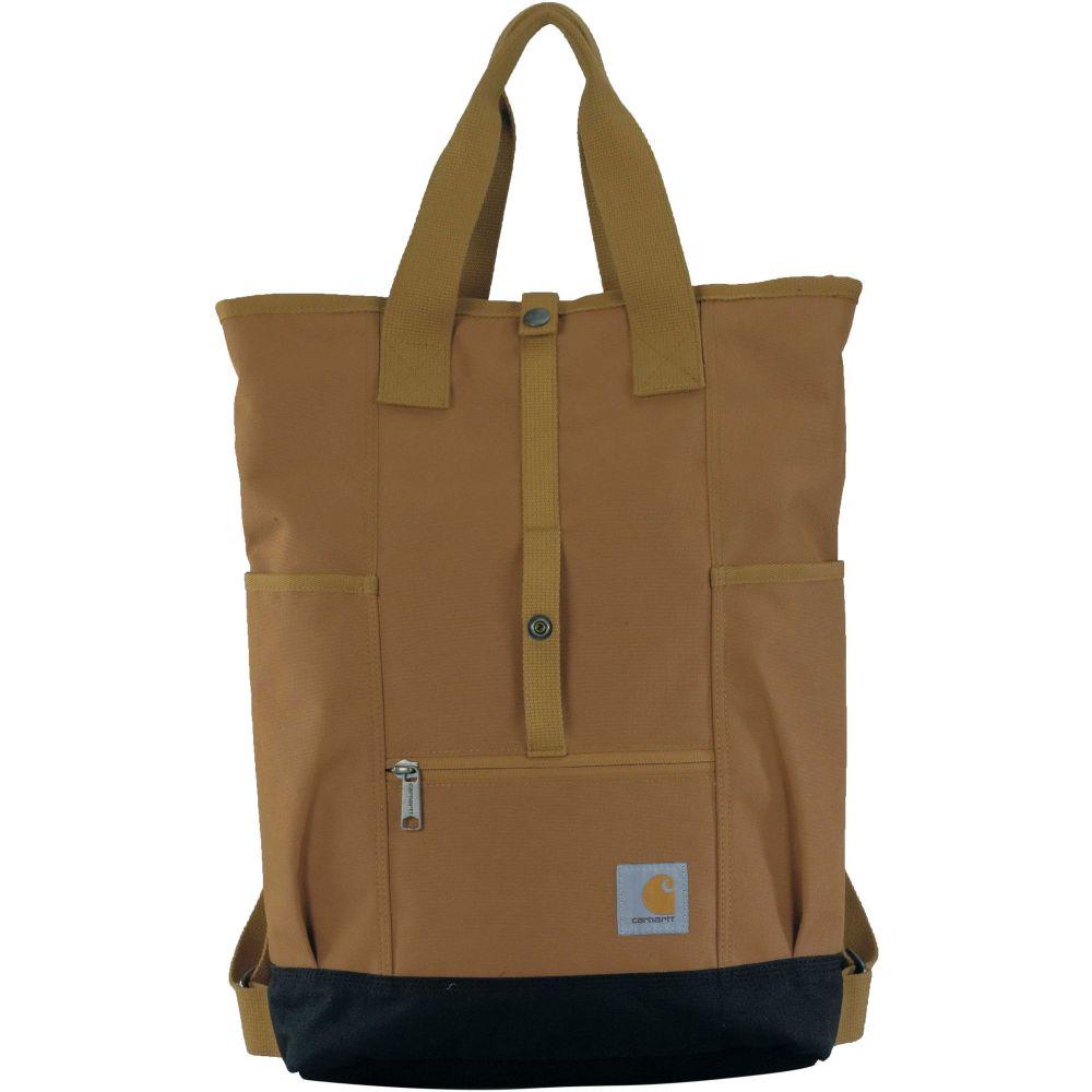 カーハート Carhartt レディース バックパック・リュック バッグ【Backpack Hybrid】Carhartt Brown