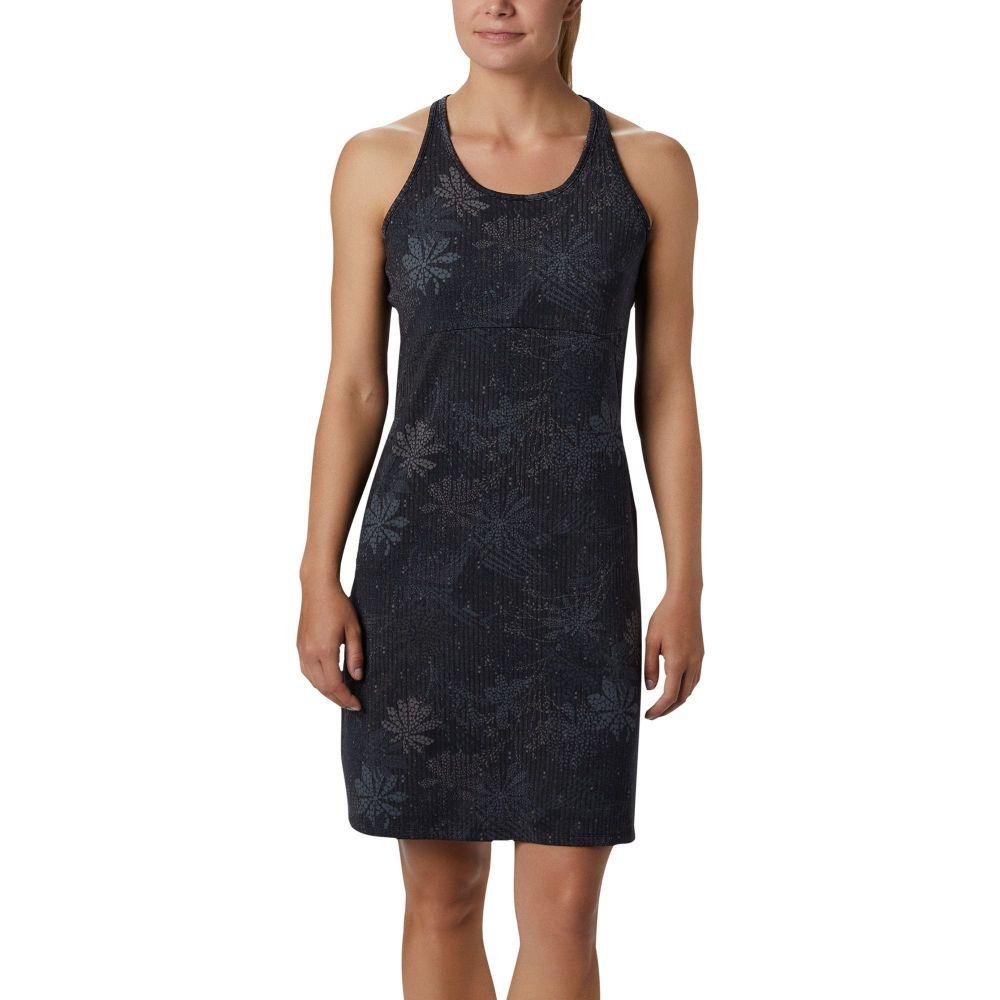コロンビア Columbia レディース ワンピース ワンピース・ドレス【Peak to Point II Knit Dress】Black Got Florals