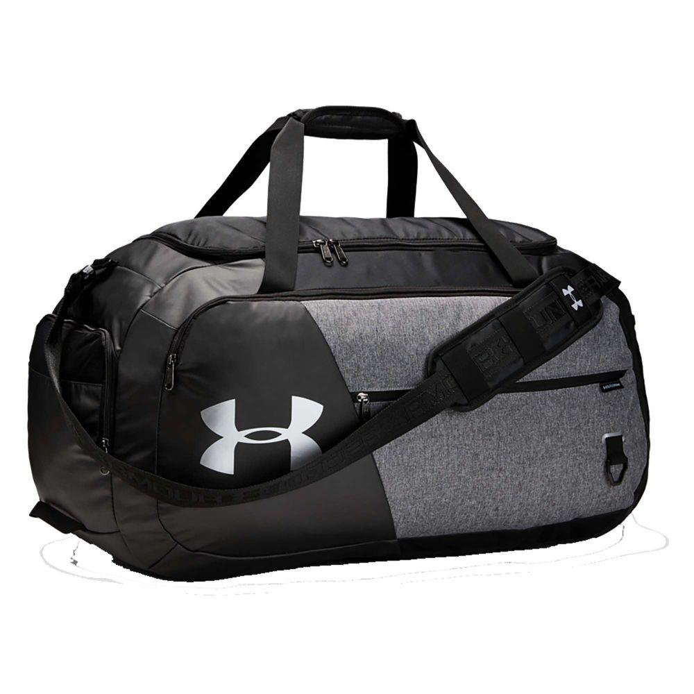 アンダーアーマー Under Armour ユニセックス ボストンバッグ・ダッフルバッグ バッグ【Undeniable 4.0 Large Duffle Bag】Graphite Medium Heather