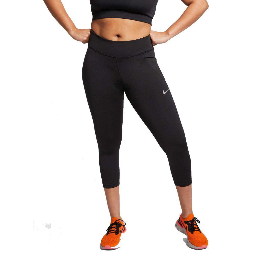 ナイキ Nike レディース ランニング・ウォーキング 大きいサイズ スパッツ・レギンス ボトムス・パンツ【Plus Size Fast 3/4 Running Cropped Leggings】Black