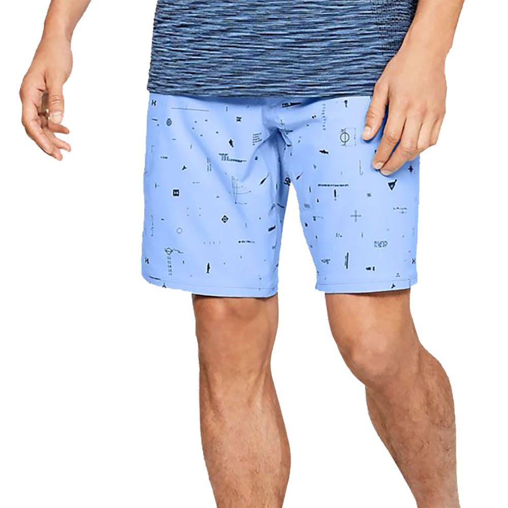 アンダーアーマー Under Armour メンズ 海パン ショートパンツ 水着・ビーチウェア【Tide Chaser Board Shorts (Regular and Big & Tall)】Carolina Blue