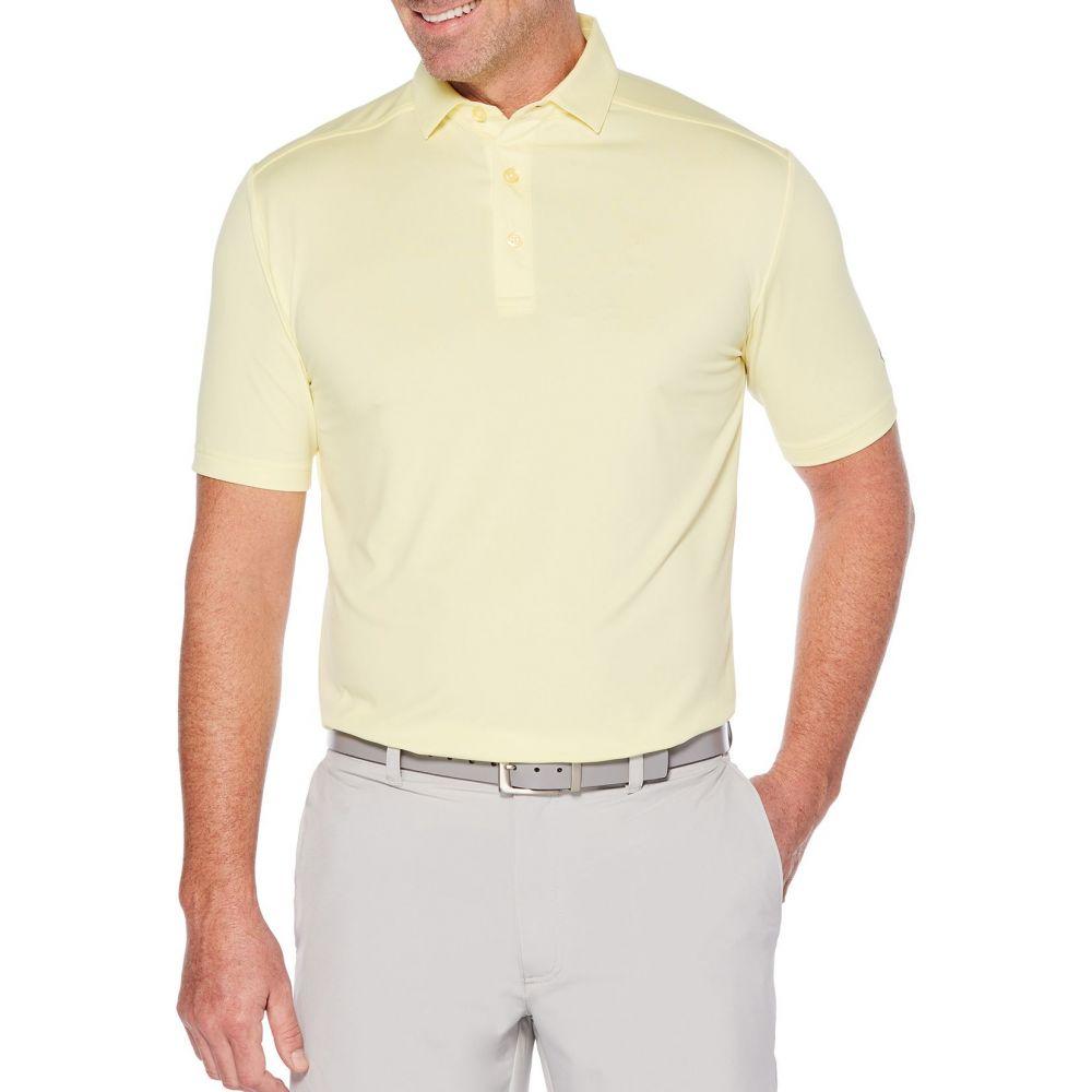 キャロウェイ Callaway メンズ ゴルフ ポロシャツ トップス【Cooling Micro Hex Golf Polo】Lemonade