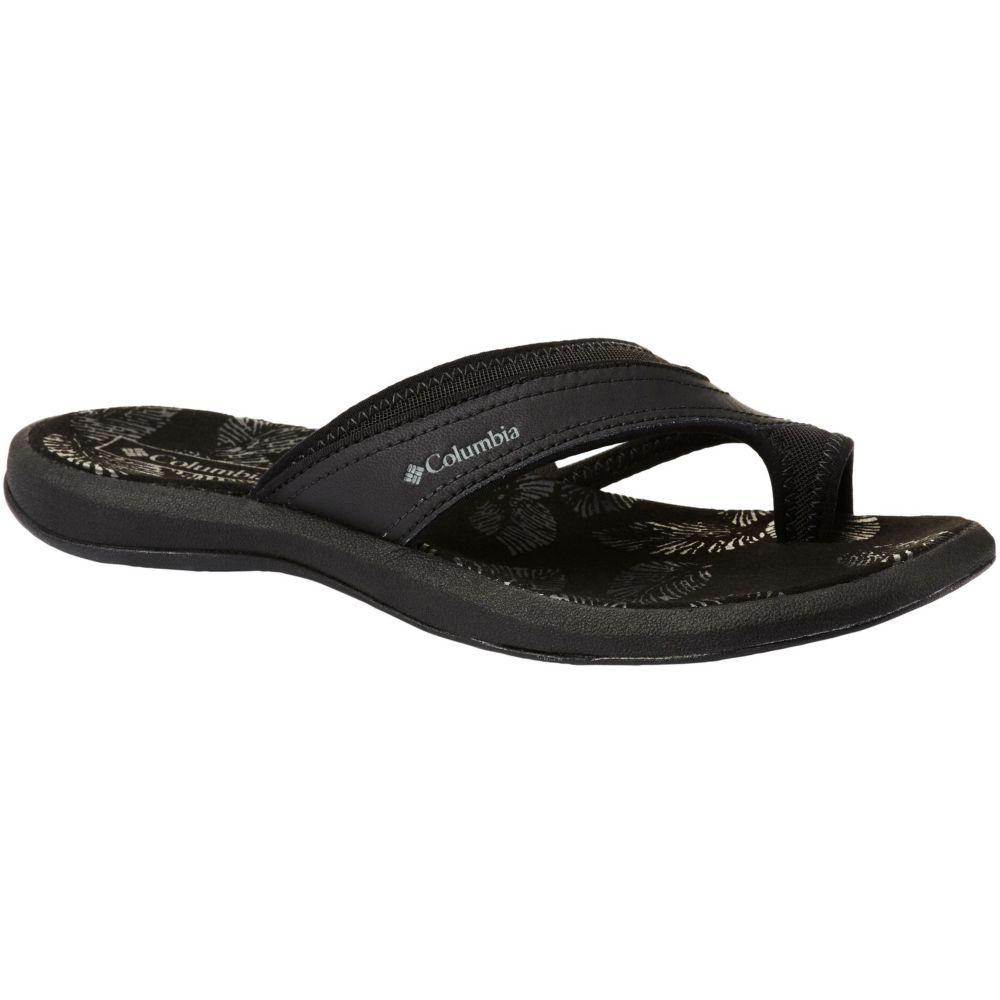 コロンビア Columbia レディース サンダル・ミュール シューズ・靴【Kea II Sandals】Black/Ti Grey Steel