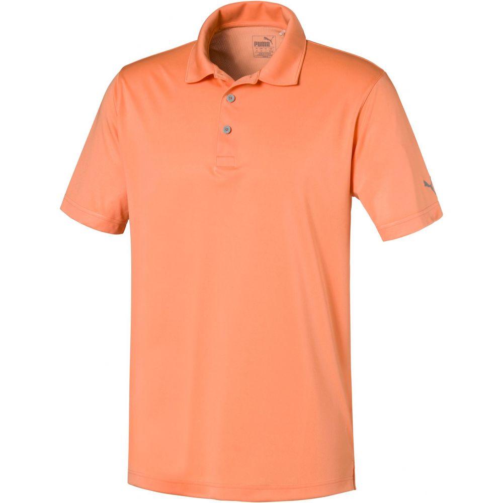 プーマ メンズ ゴルフ トップス 【サイズ交換無料】 プーマ PUMA メンズ ゴルフ ポロシャツ トップス【Rotation Golf Polo】Cantaloupe