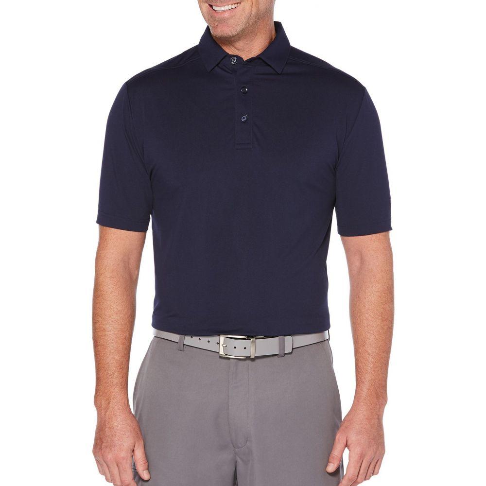 キャロウェイ Callaway メンズ ゴルフ ポロシャツ トップス【Cooling Micro Hex Golf Polo】Peacoat
