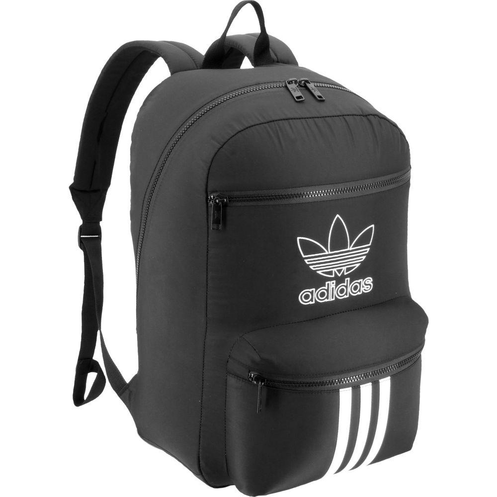 アディダス adidas ユニセックス バックパック・リュック バッグ【Originals National 3-Stripes Backpack】Black/White
