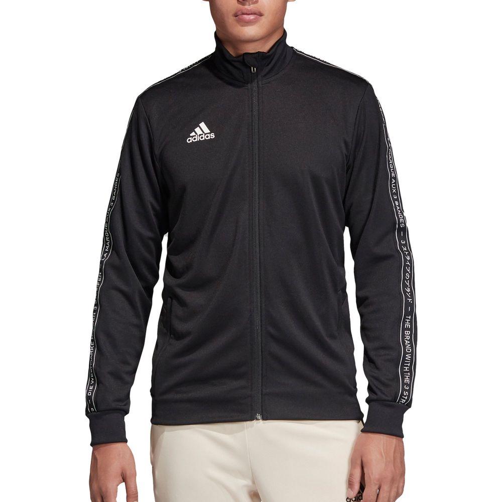 アディダス adidas メンズ サッカー ジャージ ジャケット アウター【Tiro 19 Soccer Track Jacket (Regular and Big & Tall)】Black/Black/White
