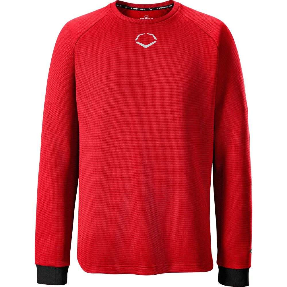 エボシールド EvoShield メンズ フリース トップス【Pro Team Heater Fleece Shirt】Scarlet