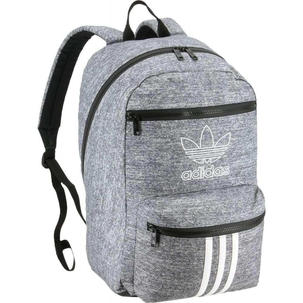 アディダス adidas ユニセックス バックパック・リュック バッグ【Originals National 3-Stripes Backpack】Onix Jersey/Black