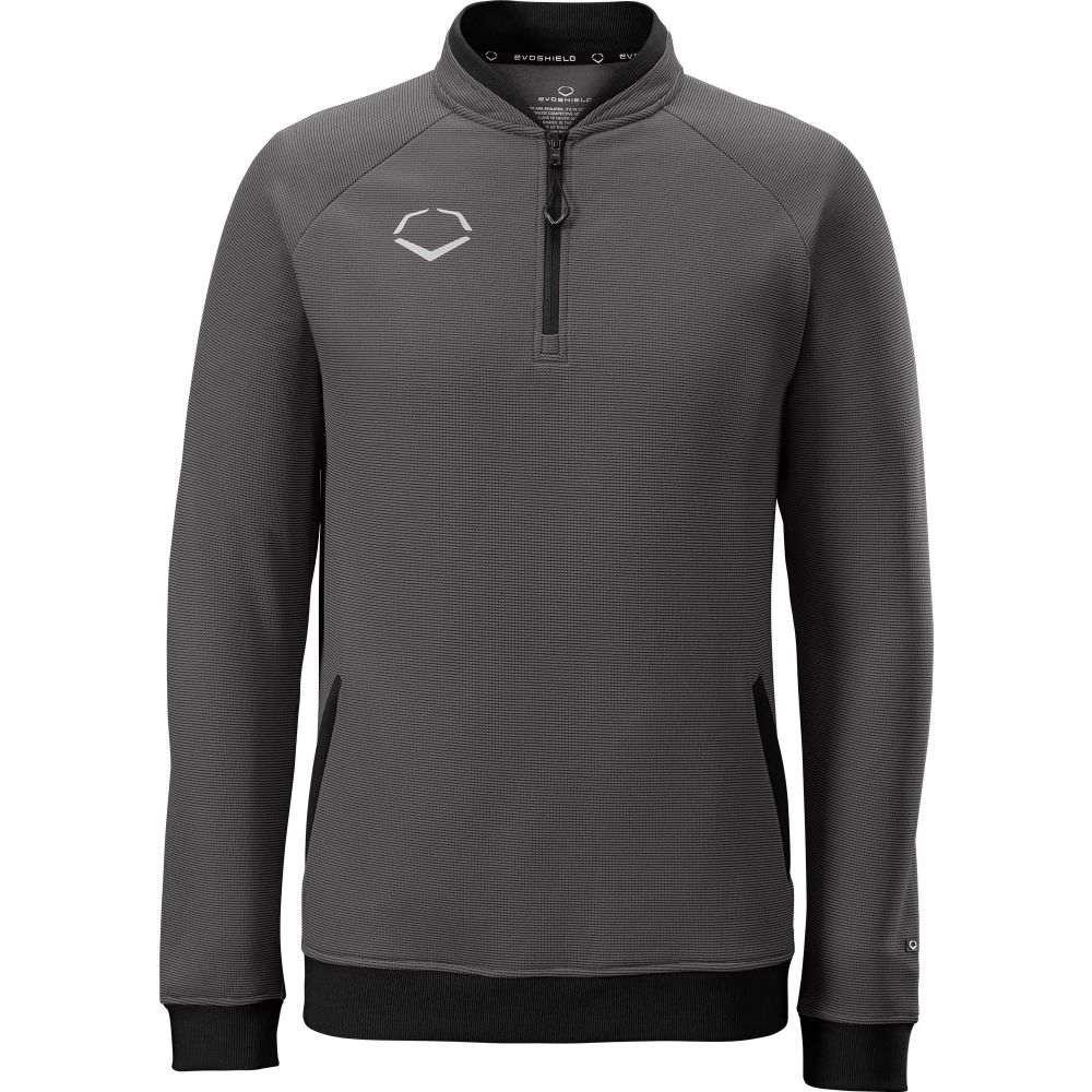 エボシールド EvoShield メンズ フリース トップス【Pro Team Heater Fleece 1/4 Zip】Charcoal