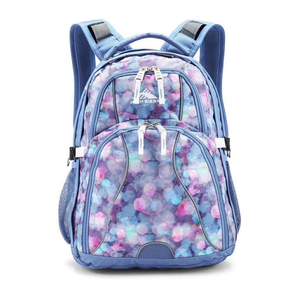ハイシエラ High Sierra ユニセックス バックパック・リュック デイパック バッグ【Swerve Daypack Backpack】Shine Blue/Lapis/White