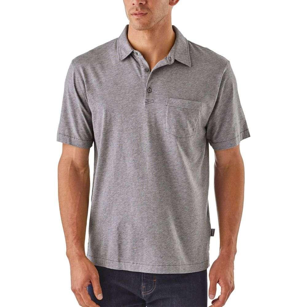 パタゴニア Patagonia メンズ ポロシャツ トップス【Squeaky Clean Polo Shirt】Feather Grey
