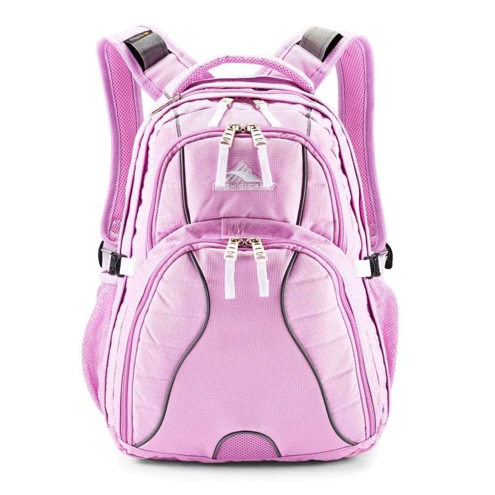 ハイシエラ High Sierra ユニセックス バックパック・リュック デイパック バッグ【Swerve Daypack Backpack】Iced Lilac/White