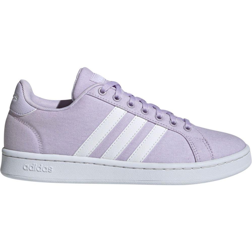 アディダス adidas レディース スニーカー シューズ・靴【Grand Court Shoes】Purple/White