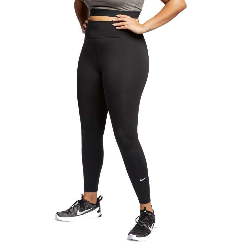 ナイキ Nike レディース フィットネス・トレーニング 大きいサイズ スパッツ・レギンス ボトムス・パンツ【One Plus Size Training Tights】Black