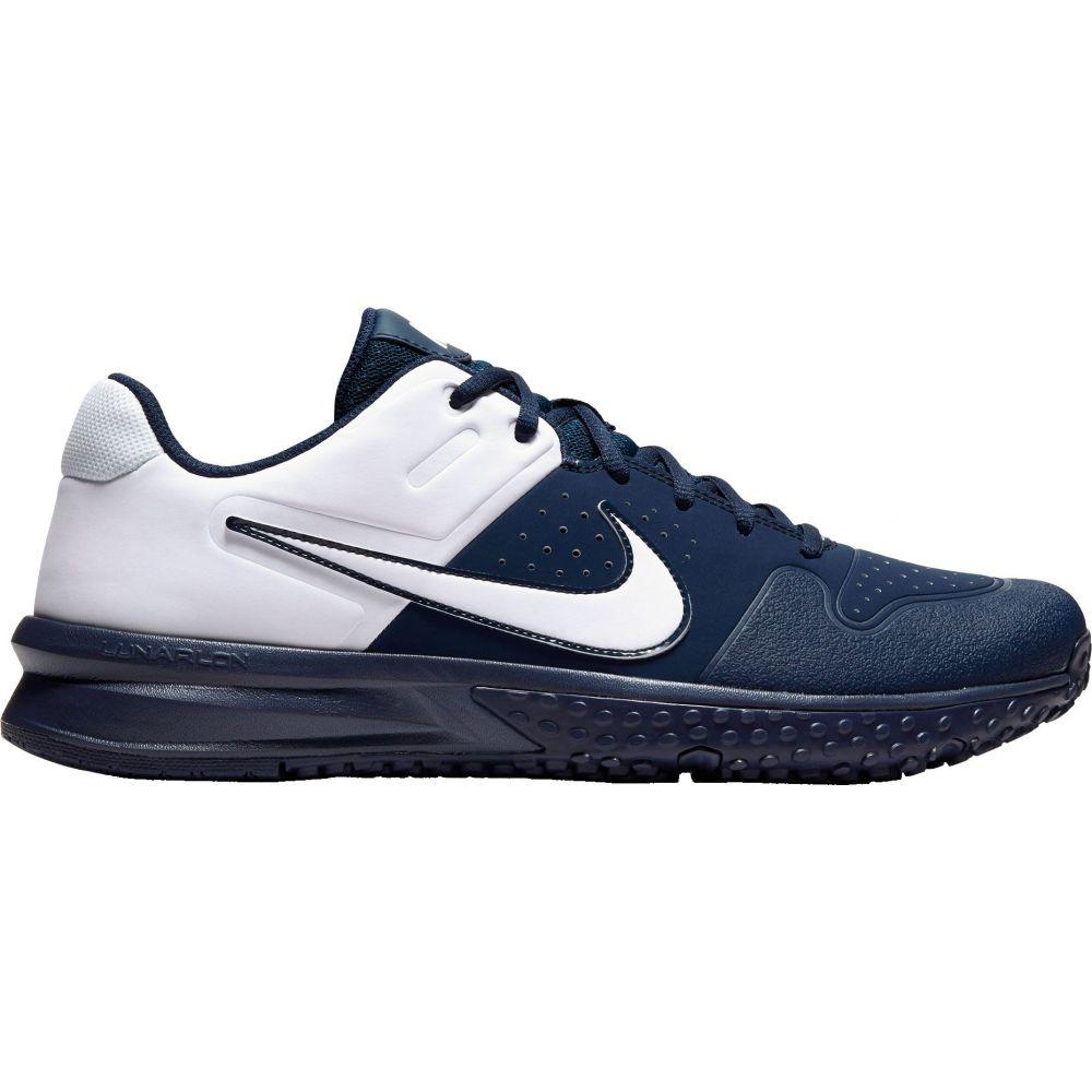 ナイキ Nike メンズ 野球 スパイク シューズ・靴【Alpha Huarache Varsity Turf Baseball Cleats】Navy/White