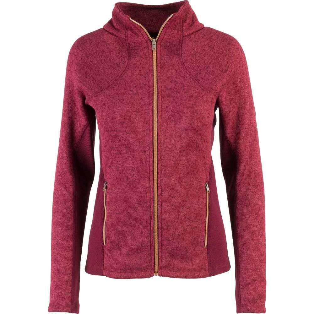 ブローニング Browning レディース ニット・セーター トップス【Hyacinth Zip Up Sweater】Heather Zinfandel
