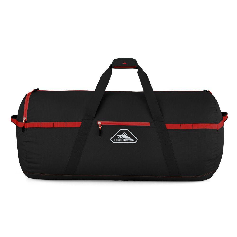 ハイシエラ High Sierra ユニセックス ボストンバッグ・ダッフルバッグ バッグ【Packed Large Cargo Duffel】Black/Crimson Red