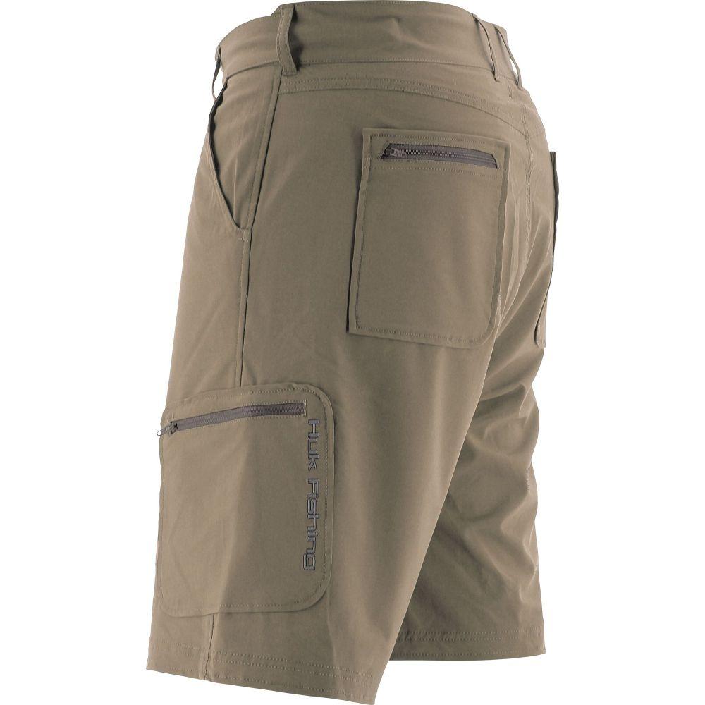 ハック HUK メンズ ショートパンツ ボトムス・パンツ【Next Level Shorts (Regular and Big & Tall)】Khaki