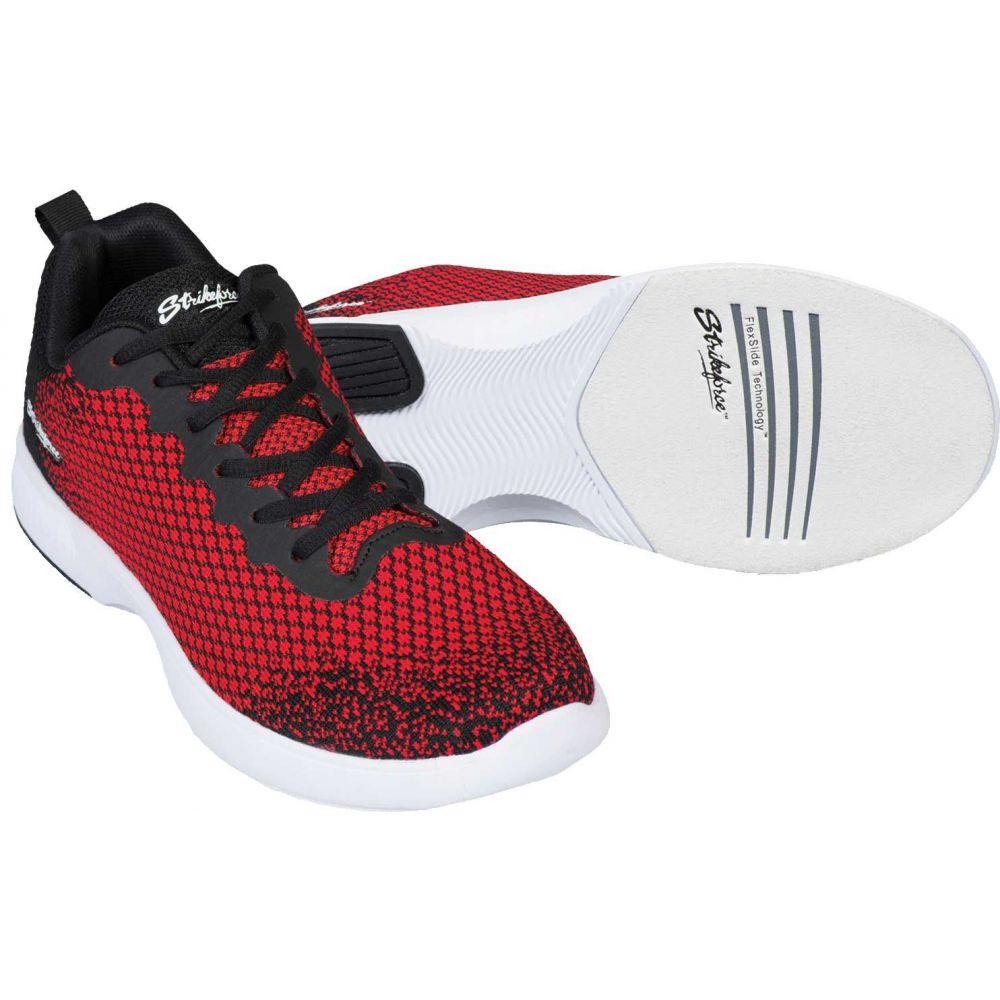 ストライクフォース Strikeforce メンズ ボウリング アビエイター シューズ・靴【Aviator Bowling Shoes】Red/Black