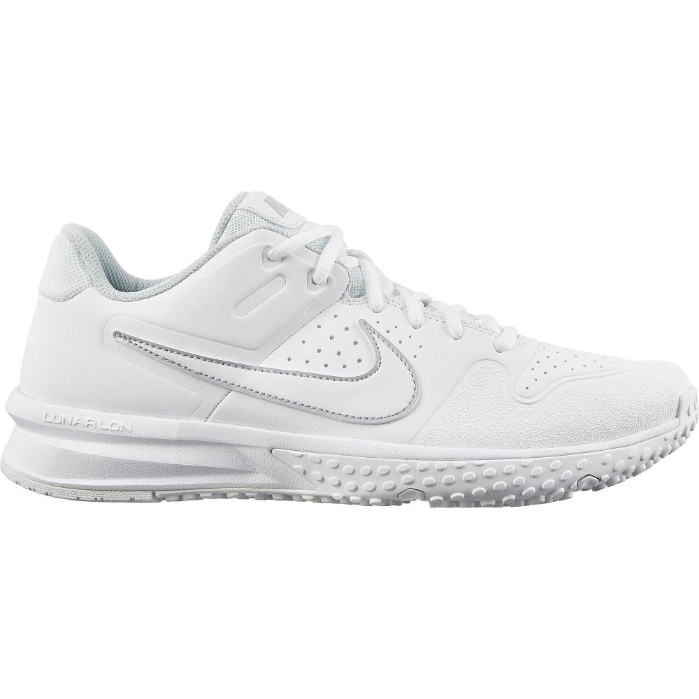 ナイキ Nike メンズ 野球 スパイク シューズ・靴【Alpha Huarache Varsity Turf Baseball Cleats】White/White