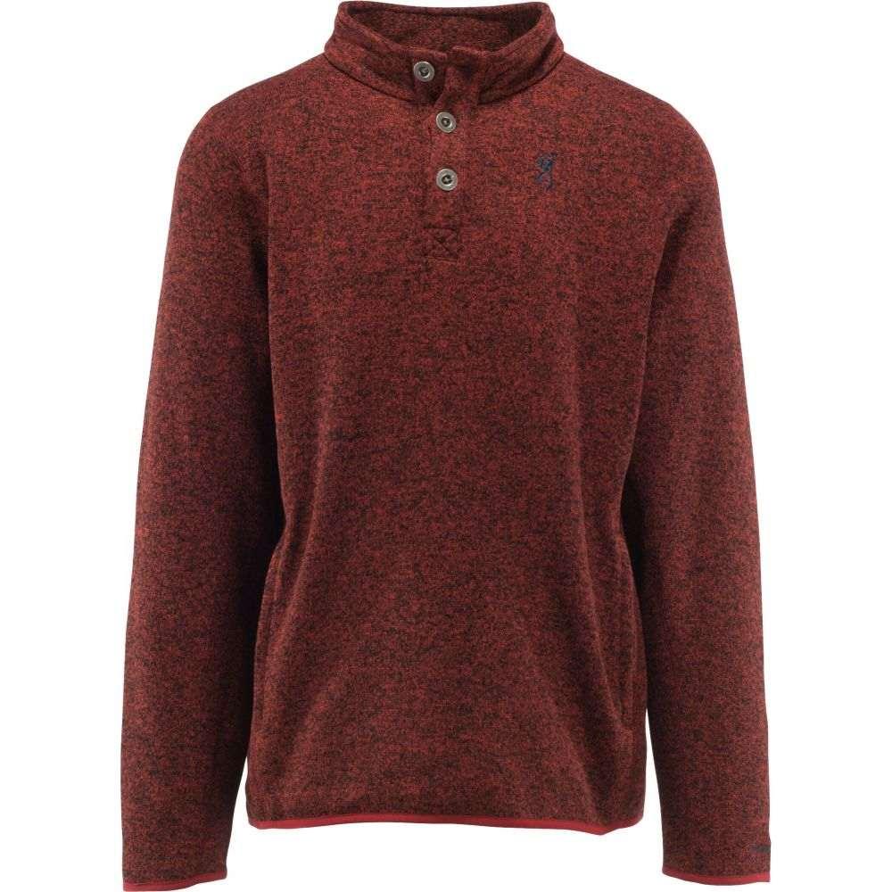 ブローニング Browning メンズ フリース トップス【Gilson Fleece Sweater】Heather Spiced Apple