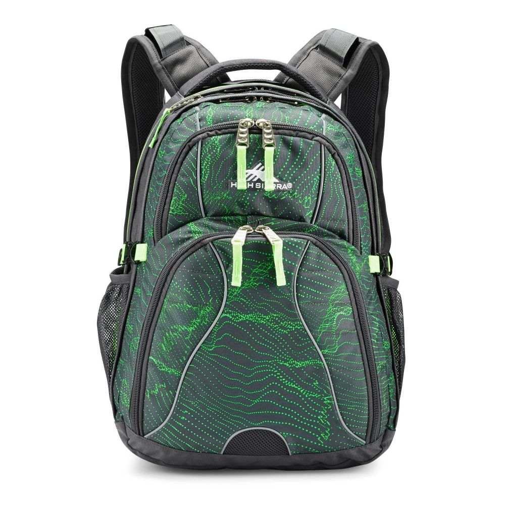 ハイシエラ High Sierra ユニセックス バックパック・リュック デイパック バッグ【Swerve Daypack Backpack】Light Wave/Mercury/Lime