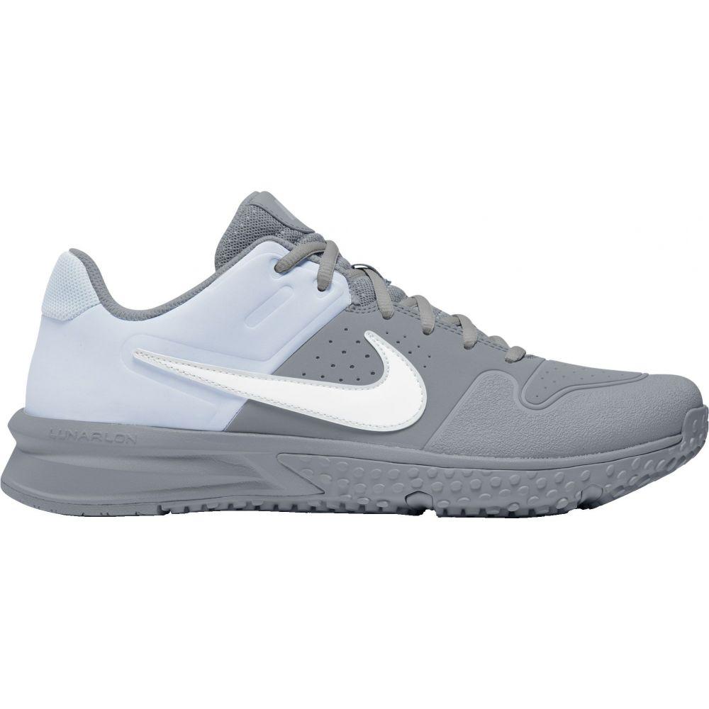ナイキ Nike メンズ 野球 スパイク シューズ・靴【Alpha Huarache Varsity Turf Baseball Cleats】Grey/White