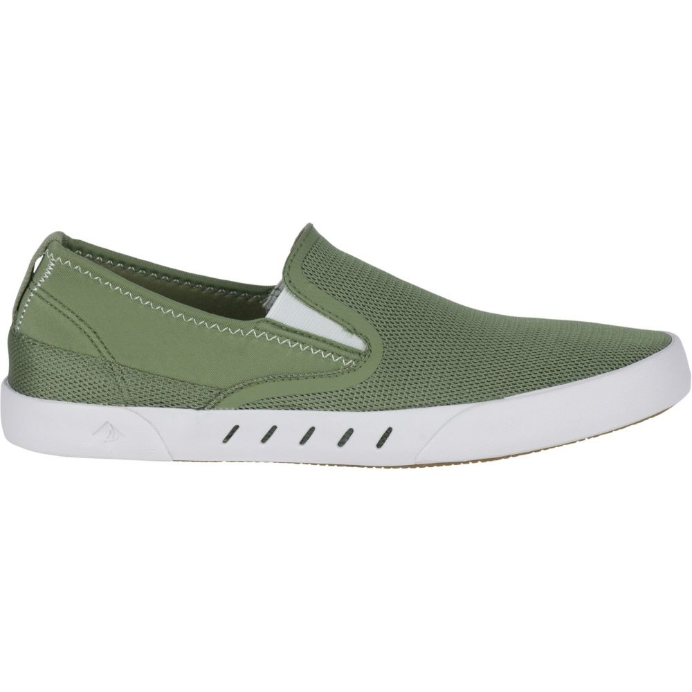 スペリー Sperry Top-Sider メンズ スリッポン・フラット シューズ・靴【Sperry Maritime H2O Slip-On Casual Shoes】Olive
