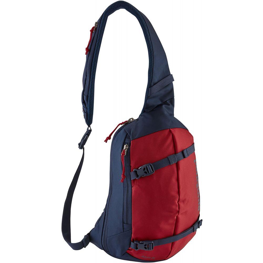 パタゴニア Patagonia ユニセックス バックパック・リュック バッグ【Atom Sling Backpack】Classic Red