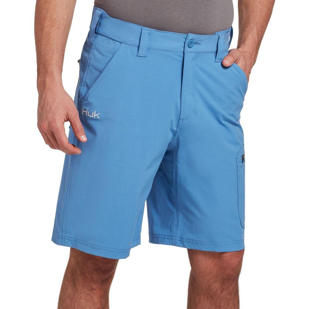 ハック HUK メンズ ショートパンツ ボトムス・パンツ【Next Level Shorts (Regular and Big & Tall)】Carolina Blue