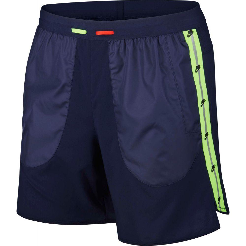 ナイキ Nike メンズ ランニング・ウォーキング ショートパンツ ボトムス・パンツ【Wild Run 7'' Running Shorts】Blackened Blue