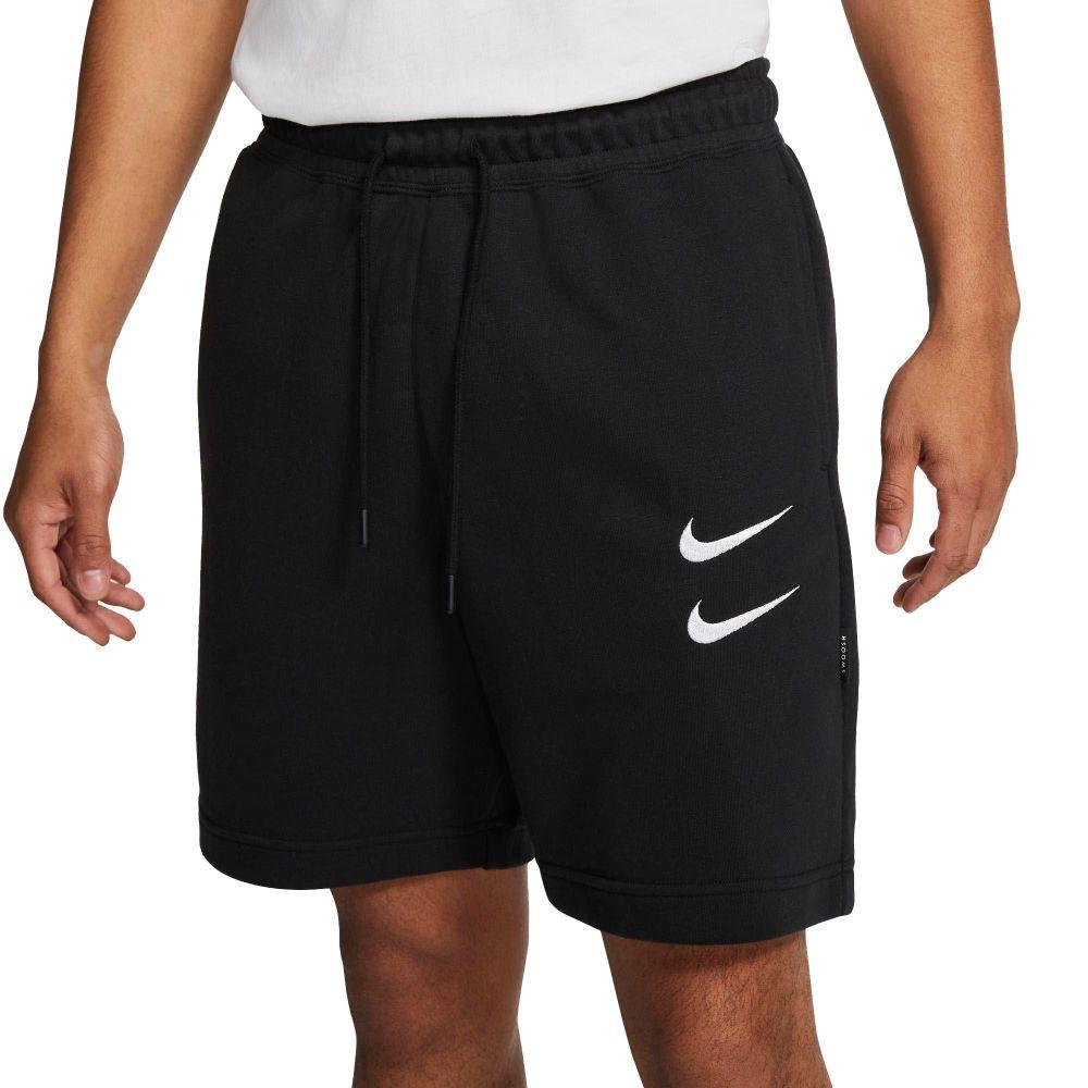 ナイキ Nike メンズ ショートパンツ ボトムス・パンツ【Sportswear Double Swoosh French Terry Shorts】Black